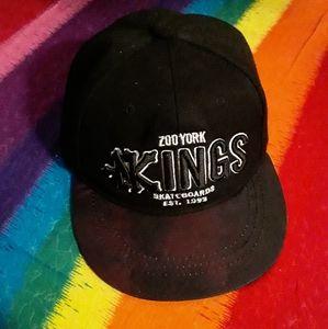 Zoo York Boys Black SnapBack Skater Hat